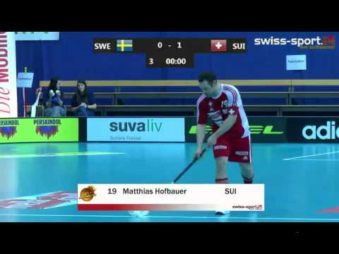 Penalty Shootout Sweden - Switzerland EFT Floorball