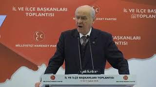 MHP Genel Başkanı Bahçeli: Afrin mutlaka teröristlerden tepeden tırnağa arındırılmalıdır