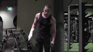 getlinkyoutube.com-ATF: No Excuses full arm workout with a broken arm.