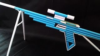 How To Make a Paper Sniper Rifle That Shoot More Than 10 Meters Away