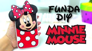 getlinkyoutube.com-Funda DIY MINNIE MOUSE DISNEY - Isa ❤️