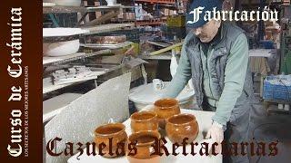 getlinkyoutube.com-Curso de Cerámica - Esmalte y Cocción de Cazuela de Barro Refractarío