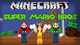 getlinkyoutube.com-Minecraft: Super Mario Bros. (Adv Map) - Save the Princess!!
