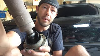 getlinkyoutube.com-What a failing front JK driveshaft looks like ...