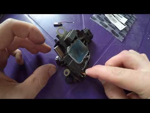 Замена щеток генератора форд фокус 2