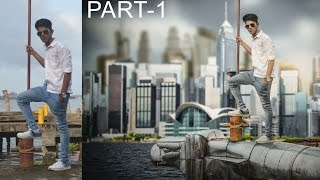 getlinkyoutube.com-Photoshop Photo editing | how to animate a photo in photoshop