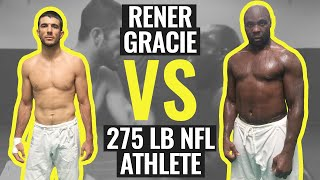 getlinkyoutube.com-Rener Gracie Spars with 275 lb NFL Athlete (Gracie University Narrated Sparring)