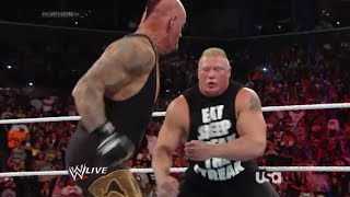 getlinkyoutube.com-WWE Raw 3/24/14 Brock Lesnar calls out The UNDERTAKER