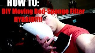 HOW TO: DIY Moving Bed-Sponge Filter HYBRID!!