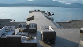 getlinkyoutube.com-Dream Homes: Kelowna Modern Glass House & Tuscan Style Villa