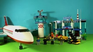 getlinkyoutube.com-LEGO CITY AIRPORT 3182