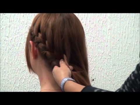 Penteado Trança Lateral Aprenda