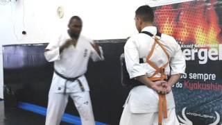 Chute Frontal Kyokushin - Ewerton Teixeira - Round One