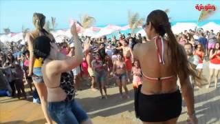 getlinkyoutube.com-شاهد أول مسابقة لتحدي الرقص بين فتيات الساحل الشمالي .. صيف ساخن جدا