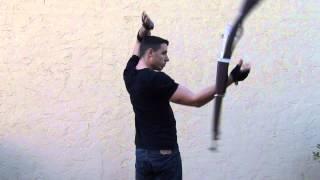 getlinkyoutube.com-Hawaiian Punch - Rifle Exhibition Drill Trick Library (Civilian Style Spinning)