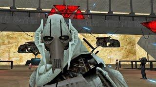 getlinkyoutube.com-Star wars Movie Duels 2 mod Jedi Academy: Obi Wan Kenobi VS General Grievous