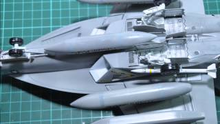 getlinkyoutube.com-EA-18G Growler 1/48 scale by Italeri