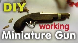 getlinkyoutube.com-DIY Miniature Handgun