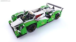 getlinkyoutube.com-LEGO Technic 24 Hours Race Car review! set 42039
