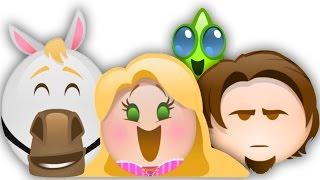getlinkyoutube.com-Tangled as told by Emoji | Disney