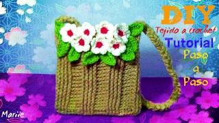 getlinkyoutube.com-Morralito Rejita de flores!!! Tejido a crochet