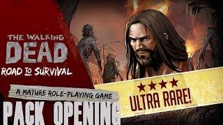 getlinkyoutube.com-The Walking Dead: Road to Survival - Opening 10 Elite Character Packs