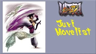 getlinkyoutube.com-Ultra Street Fighter IV - Juri Move List