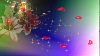 getlinkyoutube.com-футаж фон   Здесь сердца и цветы