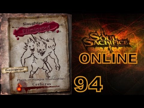 Let's Play Soul Sacrifice PS VITA - Part 94 - ONLINE - Avalon Pacts - VI.Pride - Cerberus