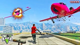 getlinkyoutube.com-GTA 5 RPGs VS Flyers | Epic Last Team Standing Deathmatch w/the Stream Team!! GTA 5 Funny Moments