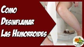 getlinkyoutube.com-Como Desinflamar Las Hemorroides Externas e Internas Rapidamente de Forma Natural