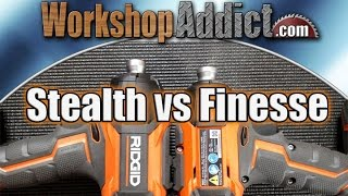 getlinkyoutube.com-Ridgid Stealth Force Pulse vs Gen5X Brushless Impact Driver