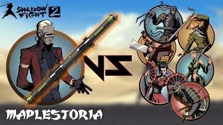 getlinkyoutube.com-[VOICEOVER] CYPHER'S WEAPON: TELESCOPIC STAFF TUTORIAL! (Shadow Fight 2)