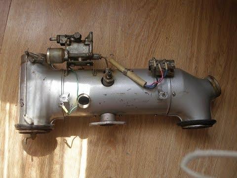 Отопление гаража. Печка от запорожца. Часть 1.