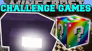 getlinkyoutube.com-Minecraft: MIGHTY MITE CHALLENGE GAMES - Lucky Block Mod - Modded Mini-Game