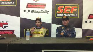getlinkyoutube.com-Stewart Friesen SEF 200 Winner's Press Conference