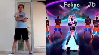 getlinkyoutube.com-Dark Horse | Katy Perry | Just Dance 2015