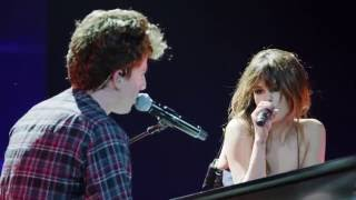 getlinkyoutube.com-Charlie Puth & Selena Gomez - We Don't Talk Anymore [Official Live Performance]