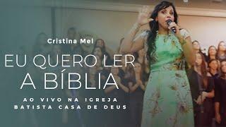 getlinkyoutube.com-Eu quero ler a Bíblia - Clipe infantil Cristina Mel