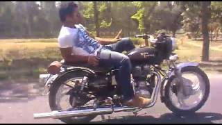 Javed Risia bullet stunt