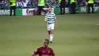 getlinkyoutube.com-Henrik Larsson's Last Match for Celtic