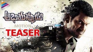 Vishal's Abhimanyudu Teaser | Abhimanyudu Movie Motion Teaser | Samantha | Arjun | Telugu Filmnagar