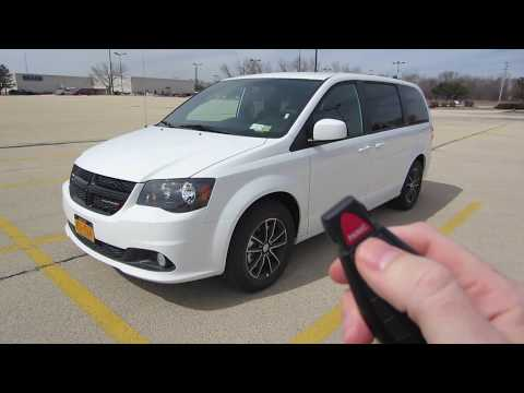 How to turn off the horn honk when locking the Dodge Grand Caravan
