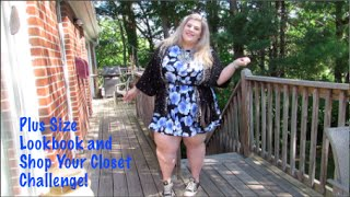 getlinkyoutube.com-Plus Size Look Book and Shopping my Closet