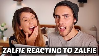 getlinkyoutube.com-ZALFIE REACTING TO ZALFIE