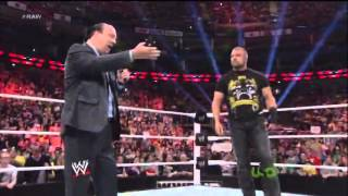 getlinkyoutube.com-Triple H Teaches Paul Heyman a Lesson For Running His Mouth