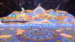 getlinkyoutube.com-Tatiana Volosozhar & Maxim Trankov - Sport Accord Opening - performance & ending
