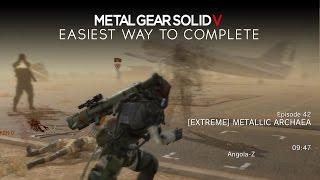 getlinkyoutube.com-Metal Gear Solid 5: The Phantom Pain - Metallic Archaea [Extreme] Easy Way to Complete Episode 42