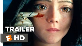 Alita  Battle Angel Trailer  2018     Battle Ready    Movieclips Trailers