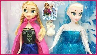 getlinkyoutube.com-Búp bê Elsa và Anna phim hoạt hình nữ hoàng băng giá Frozen (Chim Xinh)